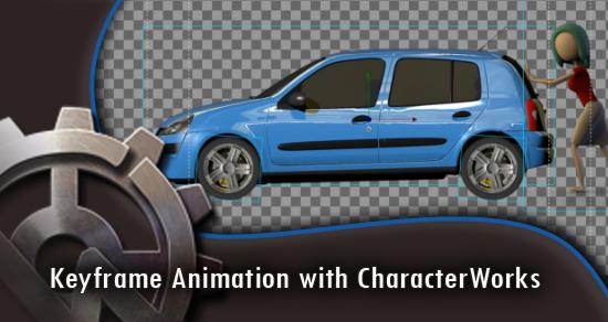 Keyframe Animation with Characterworks