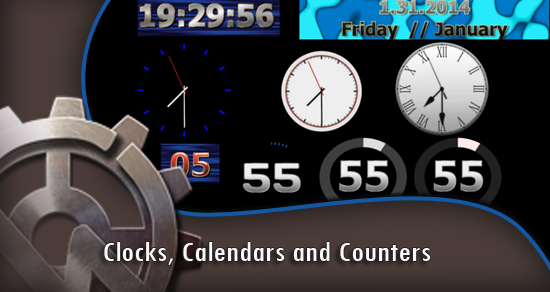 Clocks, Calendars and Counters