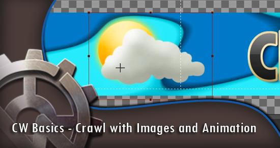 CW Basics - Crawl with Images and Animation