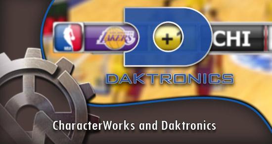 CharacterWorks and Daktronics