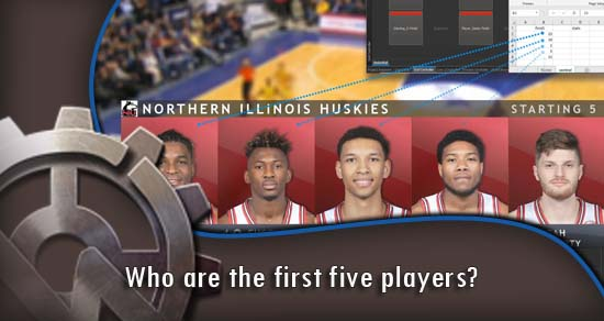Who are the first five players?