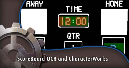 ScoreBoard OCR and CharacterWorks