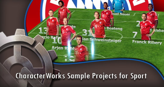 CharacterWorks Sample Projects for Sport