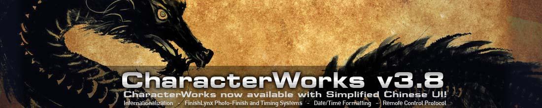 CharacterWorks v3.8